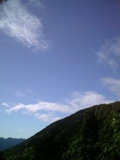 あの空は昔の空模様